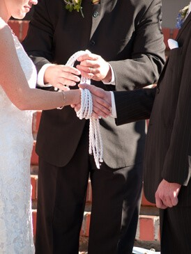 Hand Fasting - Seattle Wedding Officiant Wedding Ceremonies